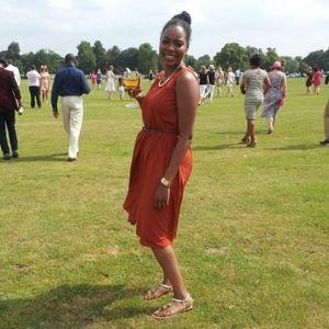 Primark London Burnt Orange Midi Dress